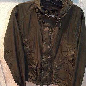 Barbour rain jacket size XL